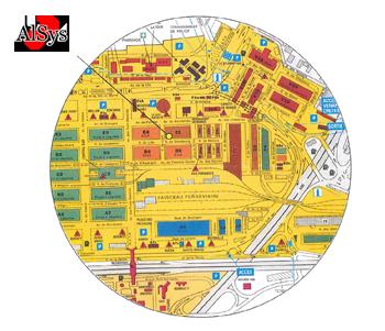 Plan boutique Alsys Rungis - Lesmayoux