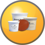 Emballage alimentaire : pot plastique, plateau fromage